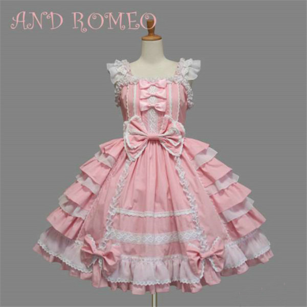Vintage Chiffon Lolita JSK Dress S - In stock