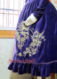 Surface Spell Judgement Day Embroidery OP Purple/Gold Embroidery In Stock
