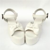 White High Platform lolita Shoes