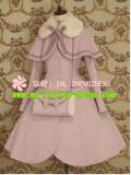 Lolita Princess Winter Slim Long Coat&Cape