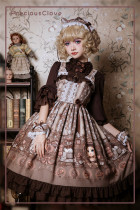 PrivateCat~ Sweet Lolita OP/JSK -Ready Made