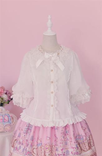 Sugar Carnival- Babydoll Style Lolita Blouse -Ready Made