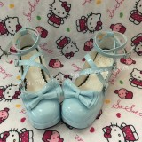 Dark Coffee Lolita Heels Footwear