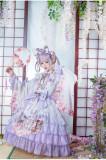 Fantasy Dream In Spring Sakura Embroidery Lolita JSK & Accessories