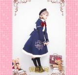 Bear Illustrations~ Embroisery Lolita JSK Dress