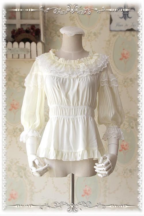 Infanta Sweet Chiffon Lolita Blouse
