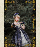 IchigoMiko ~Eden Gems~ Lolita JSK With Front Open Design  Version I -Ready Made