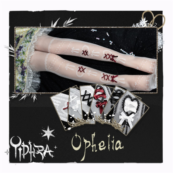 Yidhra Ophelia Lolita Above Knee Socks