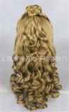 Super Brown 55cm Long Lolita Curly Wig For Princess