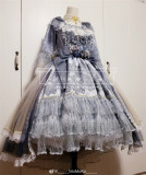 Elpress L Diamond Glitter Lolita Dress -Ready Made