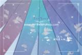 The Gradient Nebula~Sweet Lolita Tights - In Stock