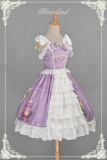 Neverland Lolita -Maiden in May- Lolita High Waist JSK with Open Front Design