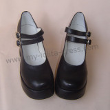 Double Straps Lolita Shoes