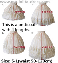 Missing A Piece Lolita Fishbones Petticoat 9 Wear Ways