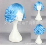 Girl's Sweet Lolita Short Curls Wig