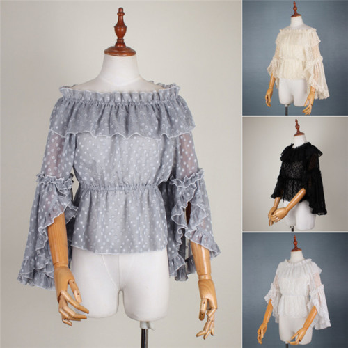 Mousita ~Sweet Lolita Hime Sleeves Blouse