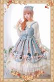 Infanta ~A Portrait of A Little Lady~ Printed Lolita JSK -Ready Made