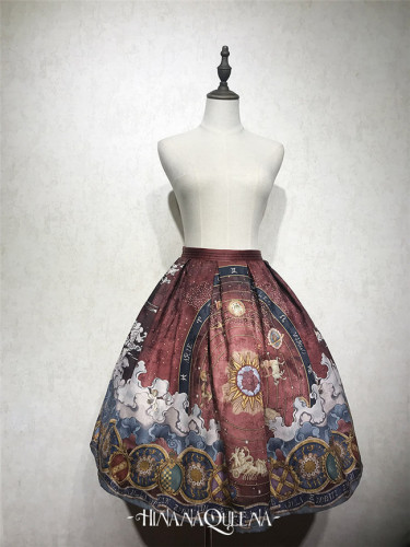 The Star Prophecy~ Lolita Skirt -Ready Made