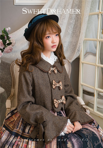 Cookies~ Petals Design Sweet Lolita Short Coat
