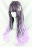 Japanese Dark Brown Purple Lolita Wig