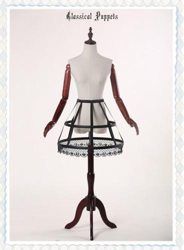 Classical Puppet Fishbone Cage Petticoat - Classic