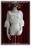 Infanta The Royal Rabbit Tea Party~ Sweet Lolita Printed JSK+Headbow