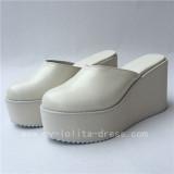 Black High Platform Sandals Lolita Shoes