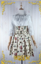 Mechanical Balloon~ Lolita Blouse+Skirt