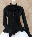 Sweet Ruffles Silk and Linen Lolita Shirt 5 Colors