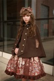 Neverland Lolita ~The Traveller In The Wind~ Lolita Cape -4 Colors Available