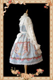 The Book of Alice's Fantastic Land ~Lolita JSK Dailywear Version + Headbow -Special Price