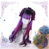 Boundless ~Purple Lolita Long Curls Wig