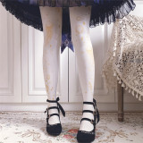 Ruby Rabbit ~ Aurelia Aurita Thin Lolita Tights