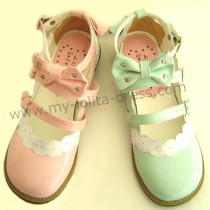 Six Colors Flat Lolita Shoes