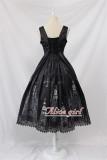 Black Cross Church Gothic Lolita JSK Black M In Stock