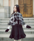 Princess Faith Sweet Snow White Lolita Short Cape
