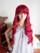 Red Long Classic Wavy Lolita Wig 2 Colors
