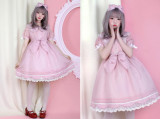 Pumpkin Cat Lolita ~Sweet Toothache~ Lolita OP -Ready made