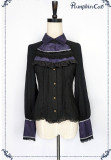 Beauty the Rose~ Lolita Long Sleeve Blouse  Charcoal Size L - In Stock