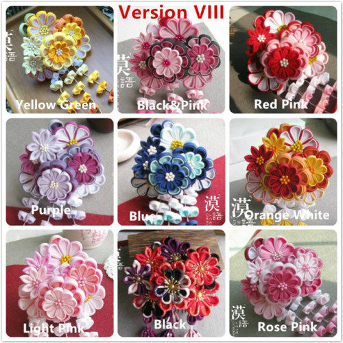 Flowers Wa Lolita Kanzashi Headdress