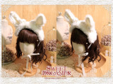Cutie Creator ~Bugs Bunny~  Sweet Plush Bunny Ears Lolita Headband  - 3 Colors Available -IN STOCK
