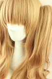 70cm Goldenrod Curls Lolita Wig with Two Ponytails