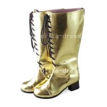 Classic Golden Vocaloid Megurine Luka Boots