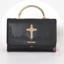 MuFish Rose Cross Daily Style Lolita Bag 2 Use