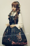 Surface Spell Musical Instruments Prints Lolita Jumper Dress
