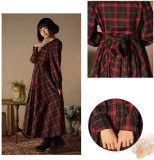 2019 New Arrival British Style Gingham Lolita OP