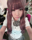 AMO 70cm Lavender Pink Curls Lolita Wig