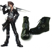 Gothic Black Squall Leonhart Boots
