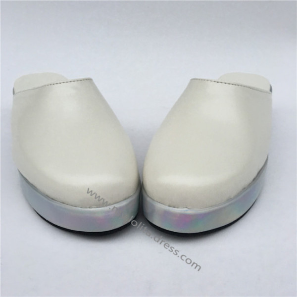 Sweet Matte White Lolita Sandals