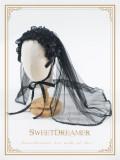 Cutie Creator Lace Bow Cross Lolita Veil - In Stock